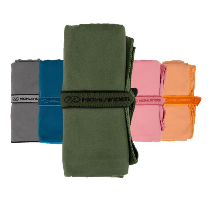 Billede af Hurtigtørrende håndklæde - 120x60 cm