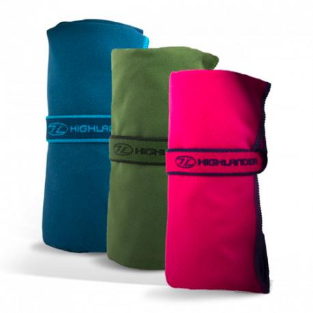 Highlander hurtigttørrende mikrofiber håndklæde