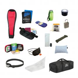 Udstyrspakke til backpacking