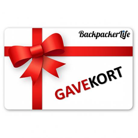 Gavekort til Backpackerlife.dk