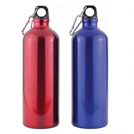 Aluminium drikkeflaske på 1 liter.