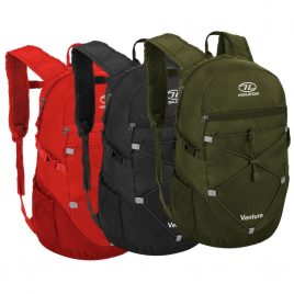 Venture Daypacks - Oliven, Sort, Rød