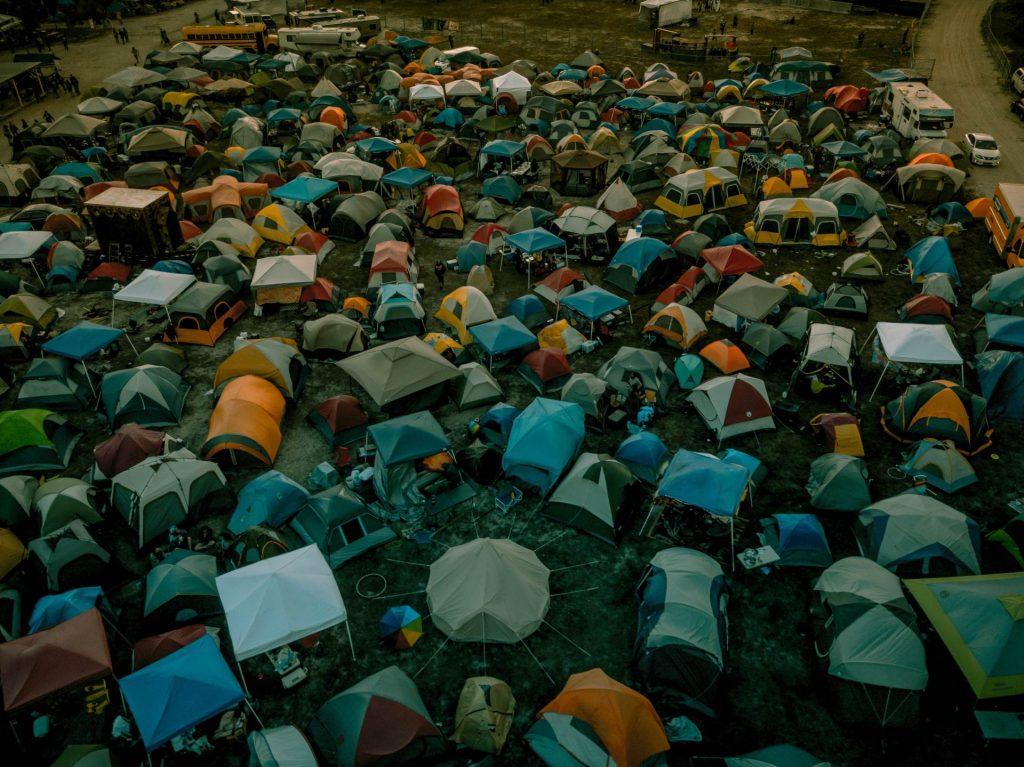 Festivalplads huskeliste til festival