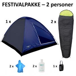 Festivalpakke 2 personer