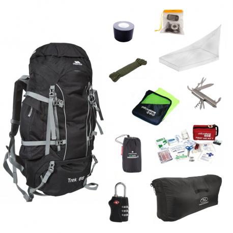 Essentials pakke til backpacking