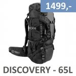 Discovery 65 liter - Sort