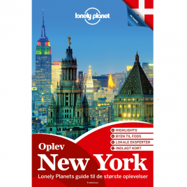 Lonely Planet – Oplev New York (Dansk)