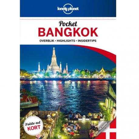 Lonely Planet bangkok pocket size bog