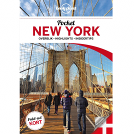Lonely Planet Pocket – New York (Dansk)