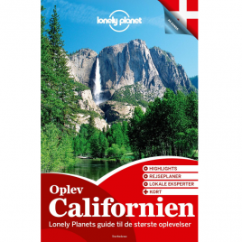 Lonely Planet – Oplev Californien (Dansk)
