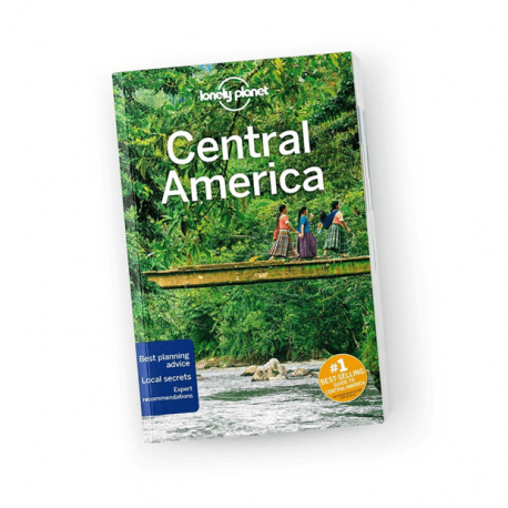 Central America, Lonely Planet (10th ed. July 19)