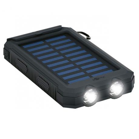 Powerbank med solceller – 8000mah