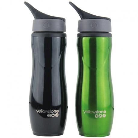 Drikkedunk 750 ml – sort og grøn