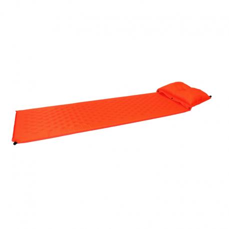 Selvoppustelig liggeunderlag med pude – 183 x 55 x 2.5cm