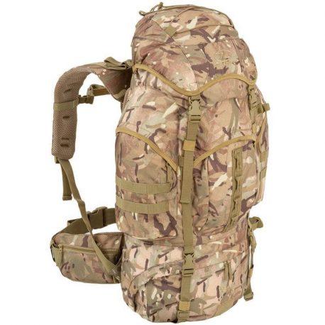 Pro Force 66 liters rygsæk i camo farve.