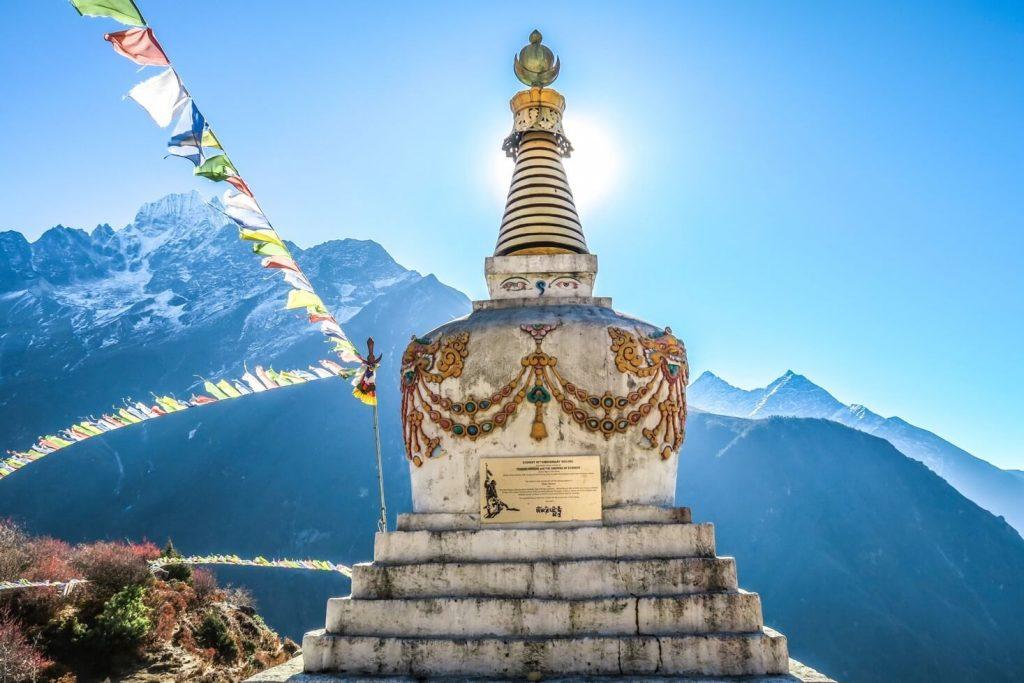 Nepal sightseeing på turen
