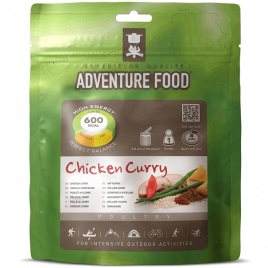 Frysetørret mad - Chicken curry fra Adventure Food