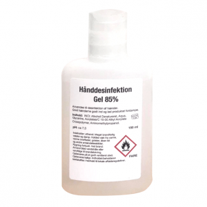 Håndsprit - 150 ml gel - 85%