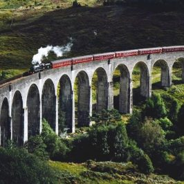 Interrail i Europa - Skotland tog
