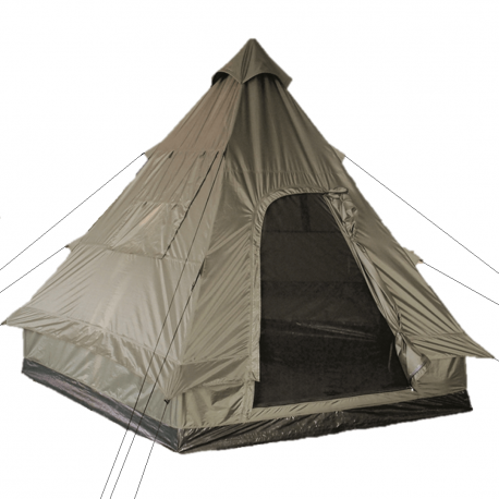 Mil-tec Pyramide Tipi telt til 4 personer