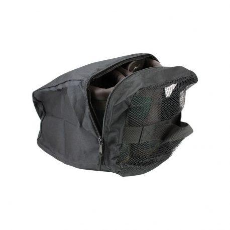 Opbevaringspose til sko og støvler - Sort