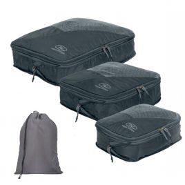 Pakkeposer med vaskepose - 3 sæt