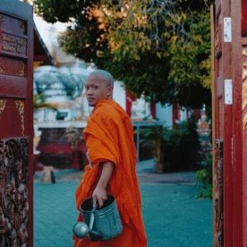 Munk i Thailand