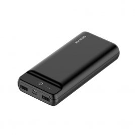 Powerbank - 20000 mah - Sort