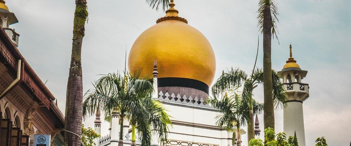 Top-5 i Singapore. Sultan Mosque i Singapore