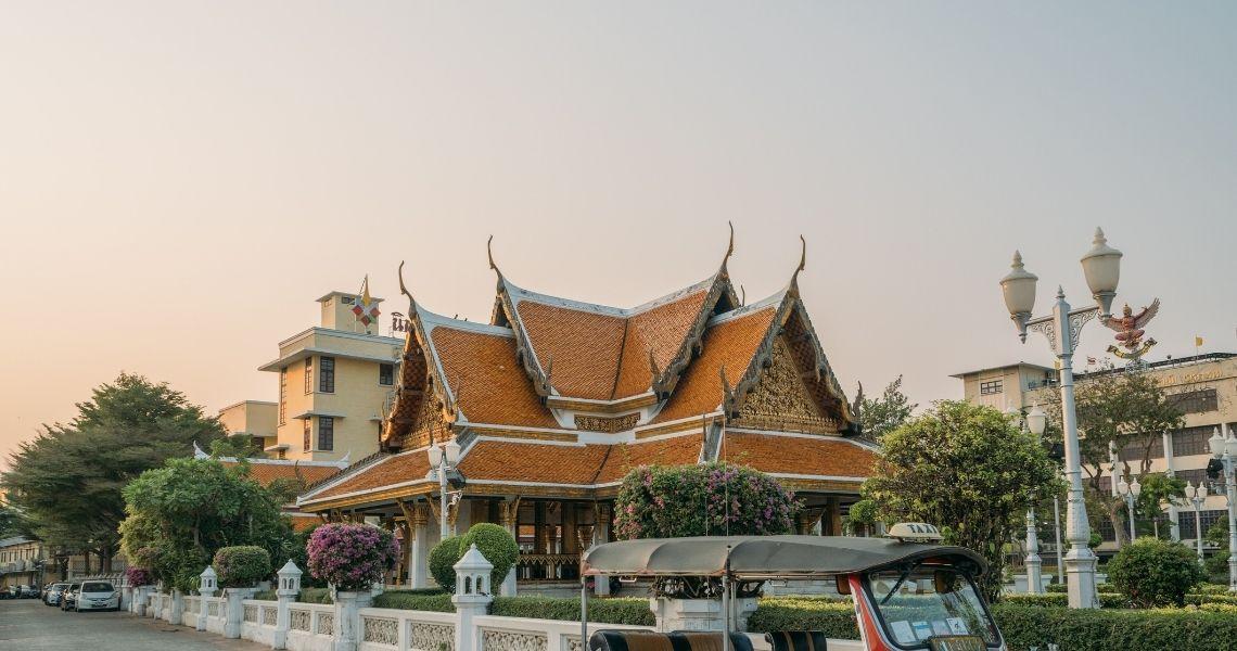 Tempel udenfor Bangkok