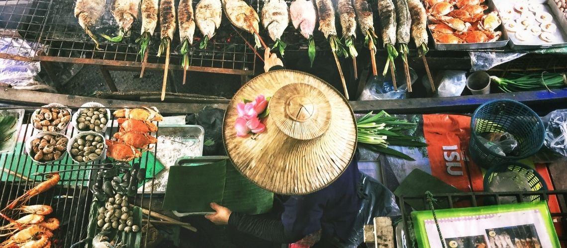 Streetfood bod i Thailand
