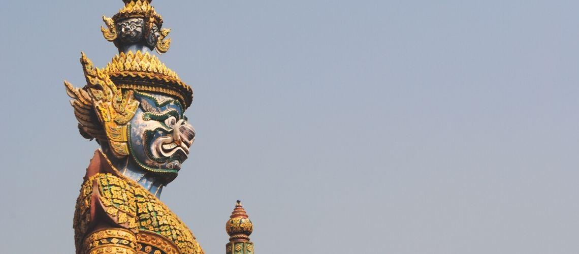 Flot Figur i Thailands hovedstad