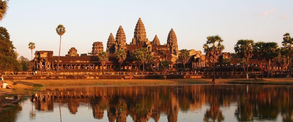 Angkor Wat, Cambodia. Seværdighed i Cambodia
