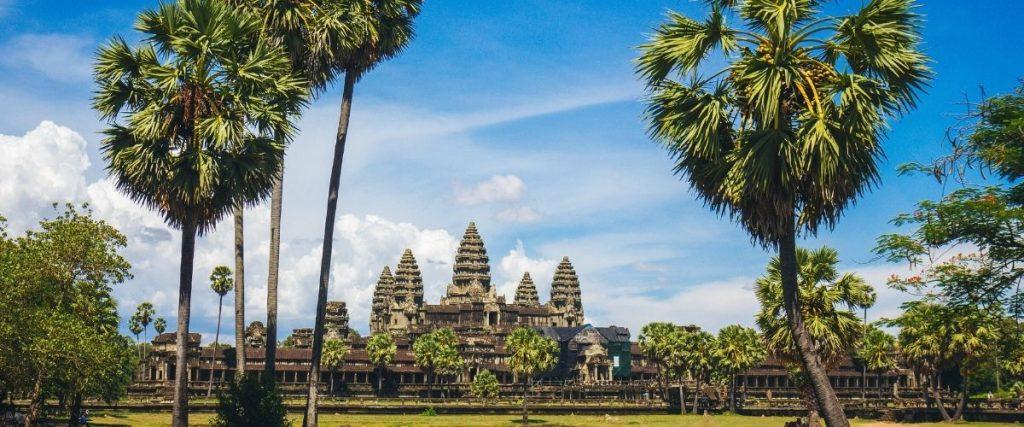 Cambodia. Tempel