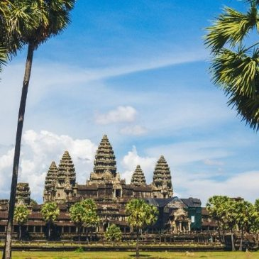 Backpacking i Cambodia