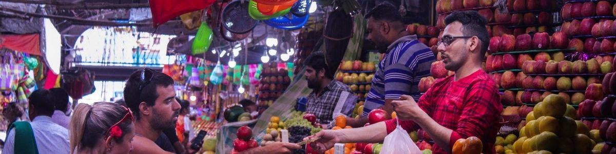 Det russiske marked. Seværdighed i Cambodia