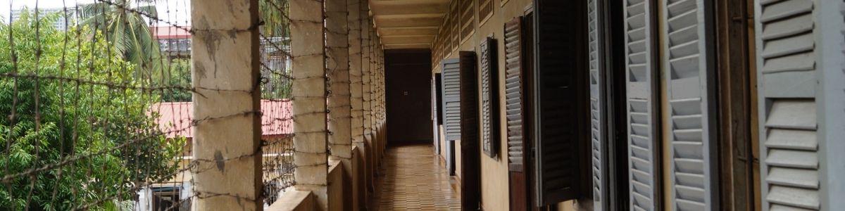Tuol Sleng Genocide museum. Seværdighed i Cambodia