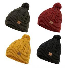 Hue med kvast - Beira lined Bobble Hat