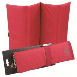 Siddeunderlag – foldbar og vandafvisende - Rød