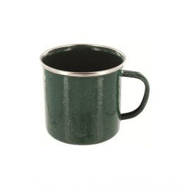Emaljekrus - Deluxe - 350 ml - Grøn