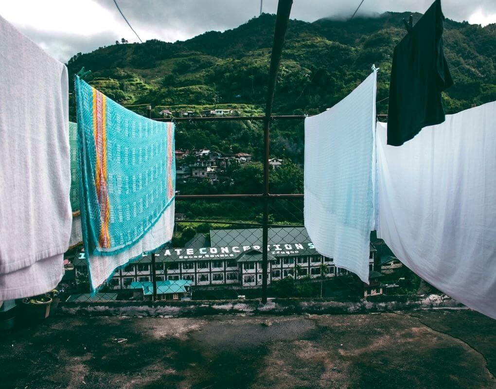 Hurtigtørrende håndklæde til rejser og outdoor