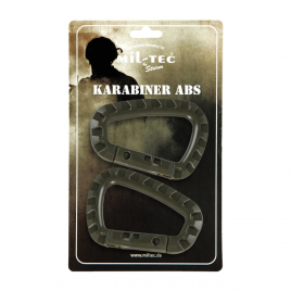 Karabinhager - ABS - 2 stk