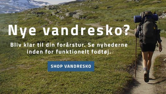 Nye vandresko - Outdoor - Backpackerlfie mobil banner
