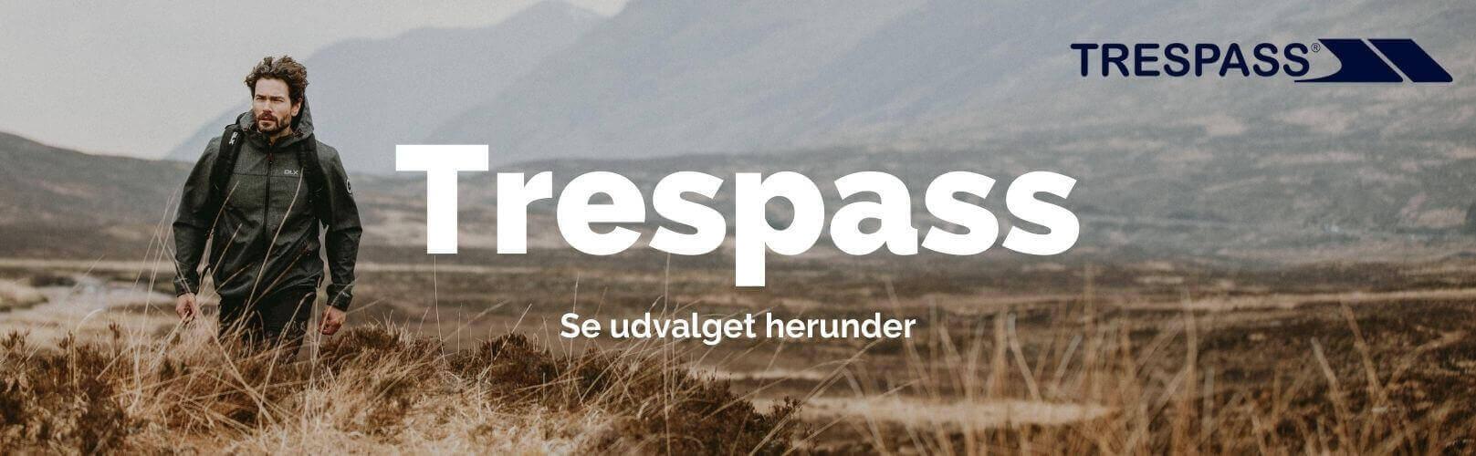 Trespass outdoor banner