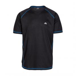 T-shirt til mænd - Trespass Albert - Sort