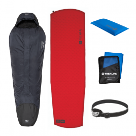 Vandre shelter pakke til outdoor turen - Essentials