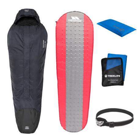 Outdoor/shelter pakke til outdoor turen - Essentials