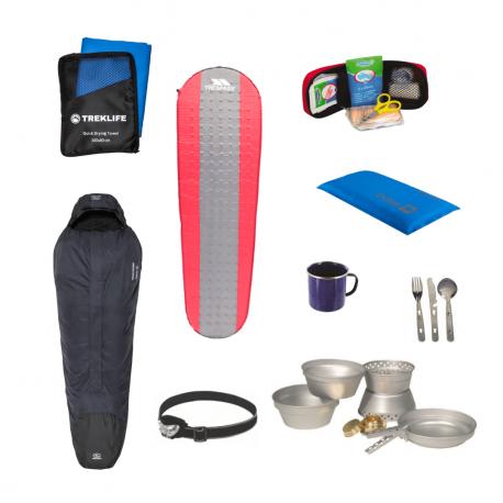 Outdoor/shelter pakke til outdoor turen - Pro