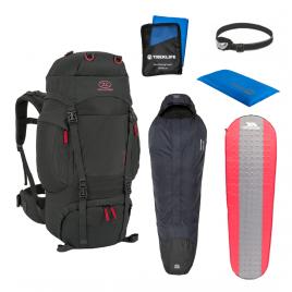 Outdoor/shelter pakke til outdoor turen - Essentials inkl. rygsæk