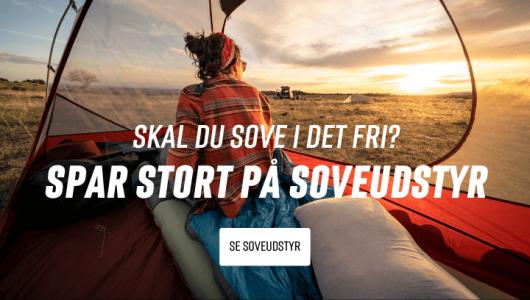 Backpackerlife outdoor sove kampagne banner mobil